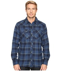 Outdoor Research Feedback Flannel Shirt Night Men's Long Sleeve Button Up Black