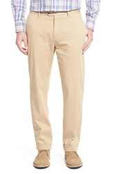 Men's Peter Millar Stretch Cotton Pants Khaki