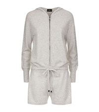 William Sharp Swarovski Cashmere Playsuit Female Grey