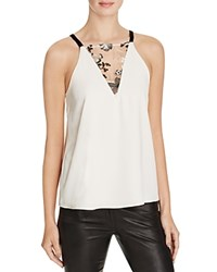 Cooper And Ella Stella Lace Tank Ivory