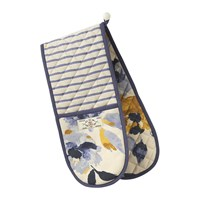Joules Ocean Floral Oven Glove White