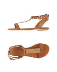 Lola Cruz Footwear Sandals Women Brown