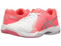 Asics Gel Game 6 White Diva Pink Silver Women's Tennis Shoes