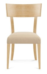 Saloom Furniture Model 103 Peter Francis Side Chair 103Su Natural Natural Impression Impression Beige
