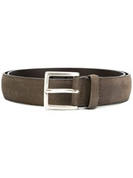 Orciani Slightly Distressed Belt Grey