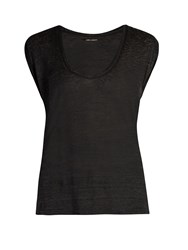 Isabel Marant Maik Scoop Neck T Shirt Dark Grey