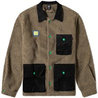 Brain Dead Sherpa Chore Coat Brown