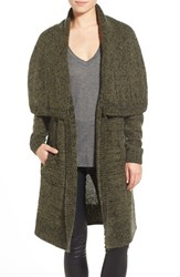 Women's Leith Shawl Collar Long Cardigan