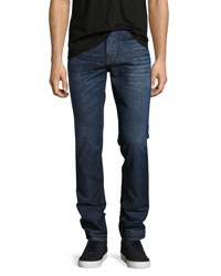 Hudson Sartor Slouchy Skinny Jeans Blue Counter Punch