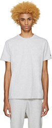 Champion Reverse Weave Grey Heavy Jersey T Shirt