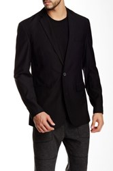 Shades Of Grey Two Button Blazer Black