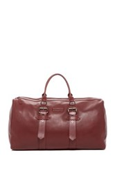 Longchamp Kate Moss X Large Leather Duffle Red