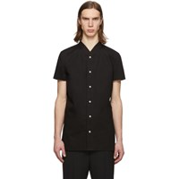 Rick Owens Black Golf Shirt