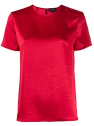 Theory Round Neck Short Sleeve Top 60