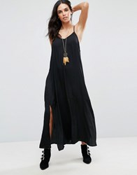 Goldie Stolen Heart Maxi Dress Black