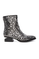 Alexander Wang Studded Leather Anouk Booties In Black