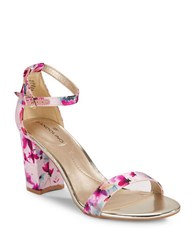 Bandolino Armory Open Toe Sandals Pink