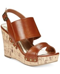 Material Girl Mona Platform Wedge Sandals Only At Macy's Women's Shoes