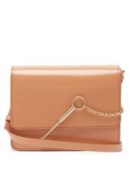 Sophie Hulme Cocktail Stirrer Large Cross Body Bag Nude