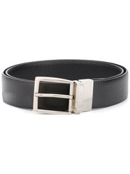 Canali Polished Buckle Belt Brown