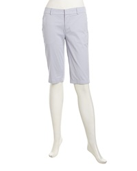 Vince Lightweight Twill Bermuda Shorts Lilac