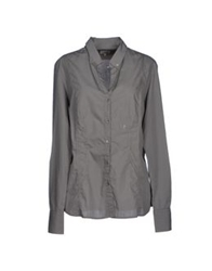 Henry Cotton's Shirts Grey