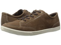 Ecco Collin Classic Tie Camel Cow Nubuck Men's Lace Up Casual Shoes Brown