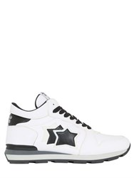 Atlantic Stars Leather High Top Sneakers