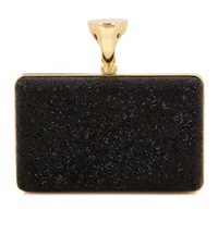 Tom Ford Micro Rock Embellished Box Clutch Black
