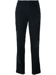 Ermanno Scervino Cropped Trousers Black