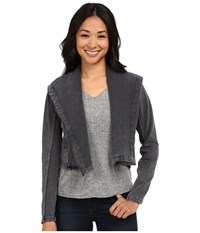 Billabong Shout Away Moto Jacket Off Black Women's Coat