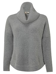White Stuff Caraway Roll Neck Jumper Grey