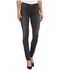 Liverpool Shades Of Grey Abby Skinny Platinum Grey Women's Jeans Gray