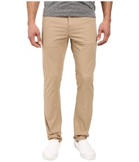 Vissla Profile Stretch Twill Slim Fit Five Pocket Pants Khaki Men's Casual Pants