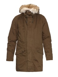 Yves Salomon Rabbit Fur Lined Parka