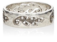 Cathy Waterman Cutout Paisley Leaf Band No Color
