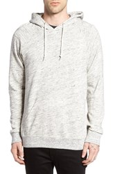 Obey Men's Monument Hoodie Heather Oatmeal
