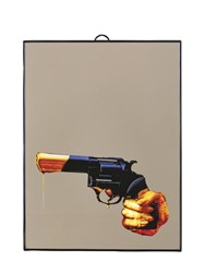 Seletti Medium Revolver Printed Mirror Multicolor