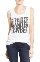 Women's Signorelli 'Wander' Graphic Scoop Neck Tank