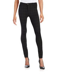 Sam Edelman Kira Printed Ponte Pants Black