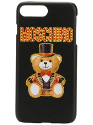 Moschino Teddy Iphone 7 Plus Cover Black
