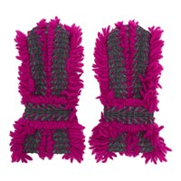 Issey Miyake Pink And Grey Eagle Gloves