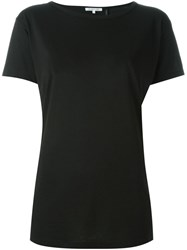 Helmut Lang Open Back T Shirt Black