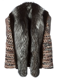 Missoni Panelled Knitted Gilet Multicolour