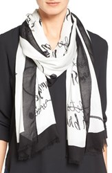 Kate Spade Women's New York New Resolutions Scarf