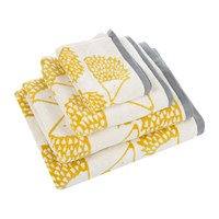 Scion Spike Towel Mustard Yellow