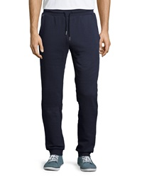 Lacoste Fleece Drawstring Sweatpants Navy
