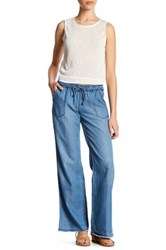 Jolt Tencel Wide Leg Pant Blue
