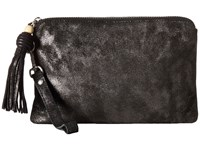 Toms Party Metallic Pouch Gunmetal Clutch Handbags Gray