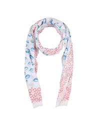 Mosaique Scarves Ivory